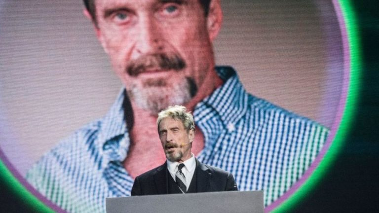 John McAfee says his Twitter account was hacked – News