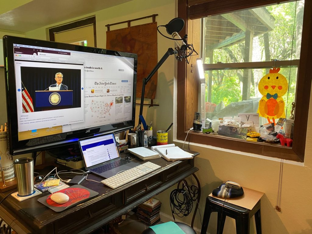 Remote Working Proves Unexpected Hero as Half of US Economy Shifts to Home Offices