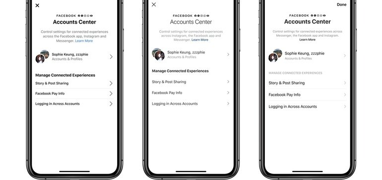 Facebook Launches Accounts Center to Better Connect its Cross-Data and Payment Systems