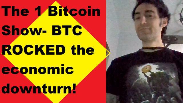 Bitcoin ROCKED the economic downturn! Key BTC numbers! Uncorrelated Stock market? JP Morgan, Gold