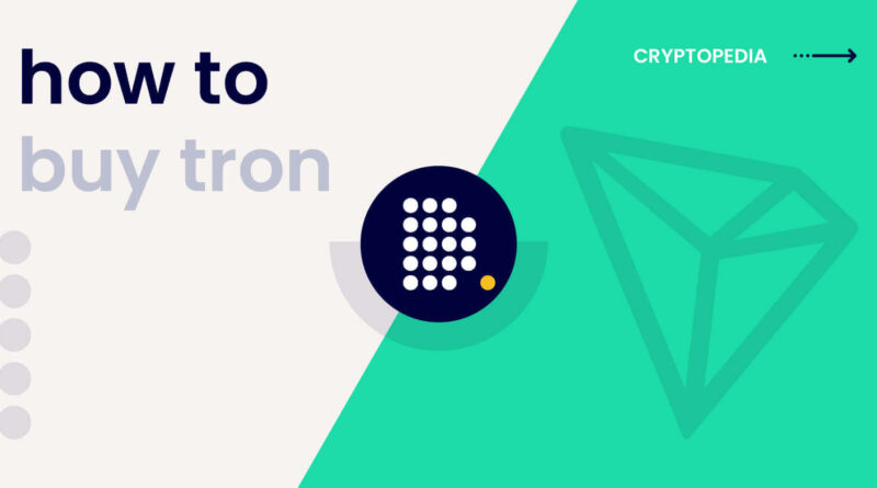 Where and How to Buy TRON Cryptocurrency?