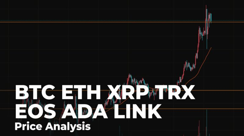 BTC, ETH, XRP, TRX, EOS, ADA and LINK Price Analysis for November 18