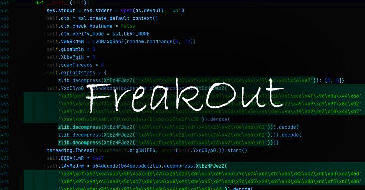 FreakOut! Ongoing Botnet Attack Exploiting Recent Linux Vulnerabilities