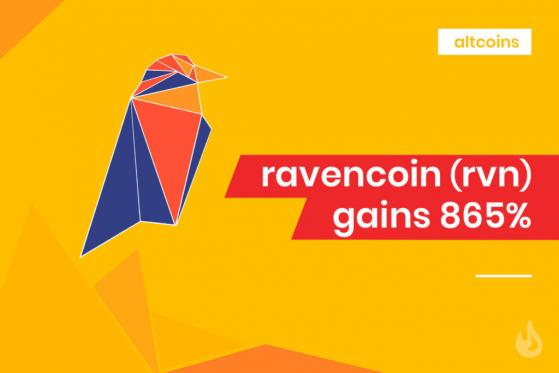 Ravencoin Spikes As Interest In Tokenized Securities Grows By DailyCoin