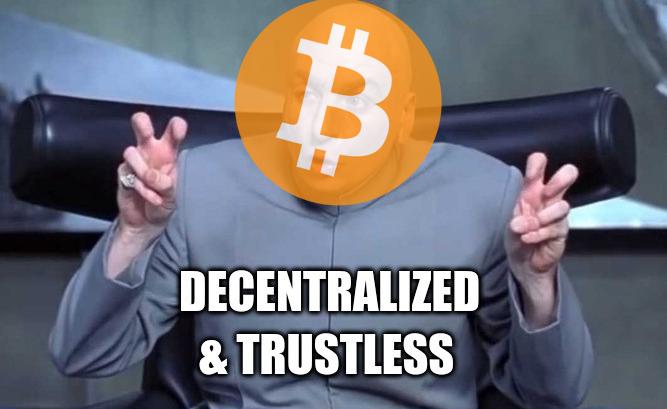 Decentralized & trustless : Debunking Bitcoin's biggest myth | by Franck Leroy | Crypto Lucid | Jun, 2021 | Medium