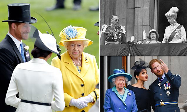 JAN MOIR: It's not just a name… Harry has stolen the Queen's crown jewel | Daily Mail Online