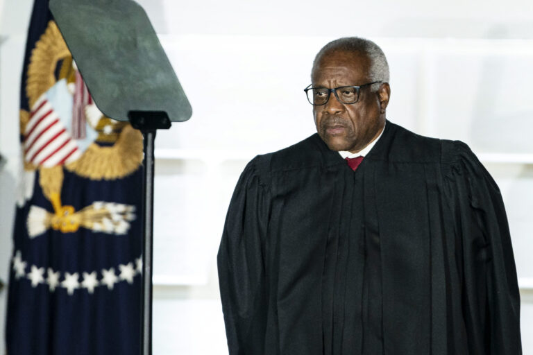 Supreme Court Justice Clarence Thomas says federal marijuana laws may be outdated