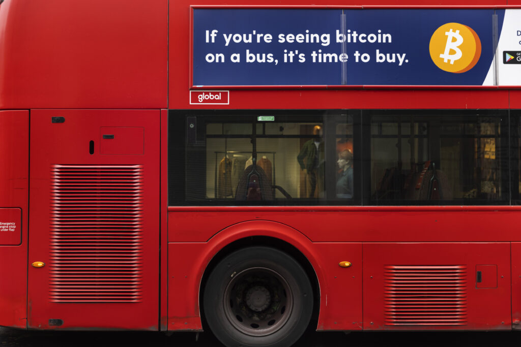 Bitcoin 'time to buy' ad banned in the UK for being irresponsible