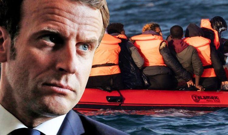 Petty Macron blocks EU decision to grant English company new contract to patrol Channel