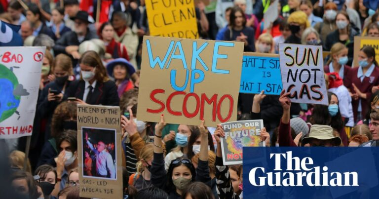 Young Australians 'screaming' for climate action but don't trust leaders to make change, survey suggests   Climate crisis