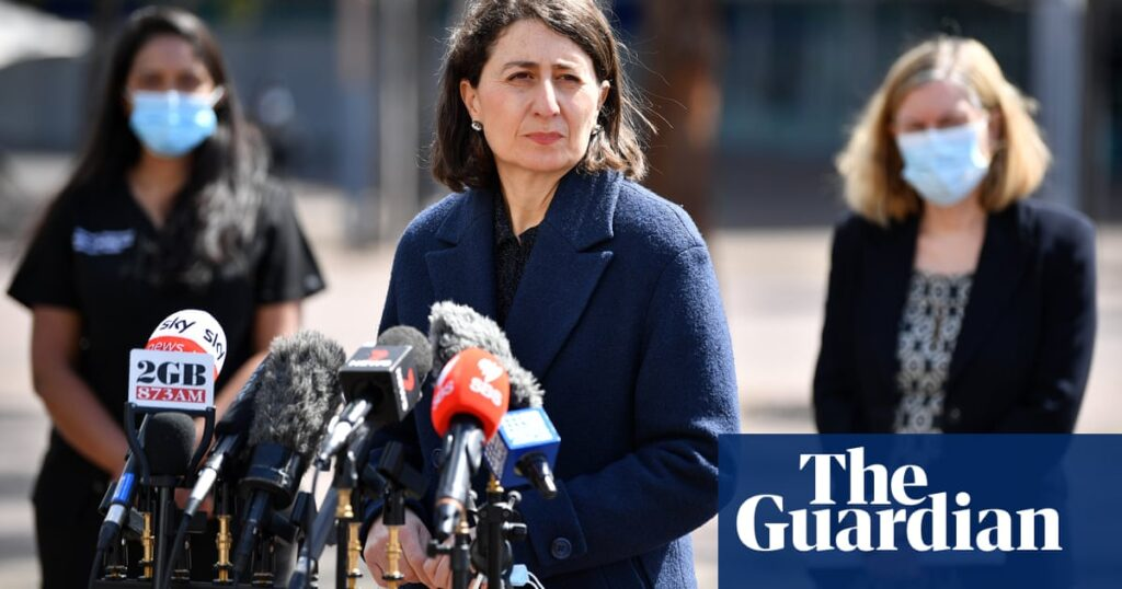 NSW Covid update: Gladys Berejiklian says entry to venues will be illegal without a vaccine | Australia news
