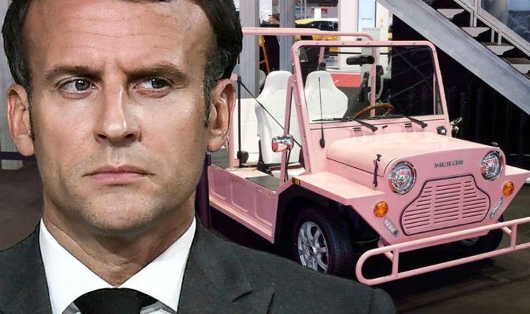 Brexit latest: Emmanuel Macron misery as Mini Moke heads back to UK factory