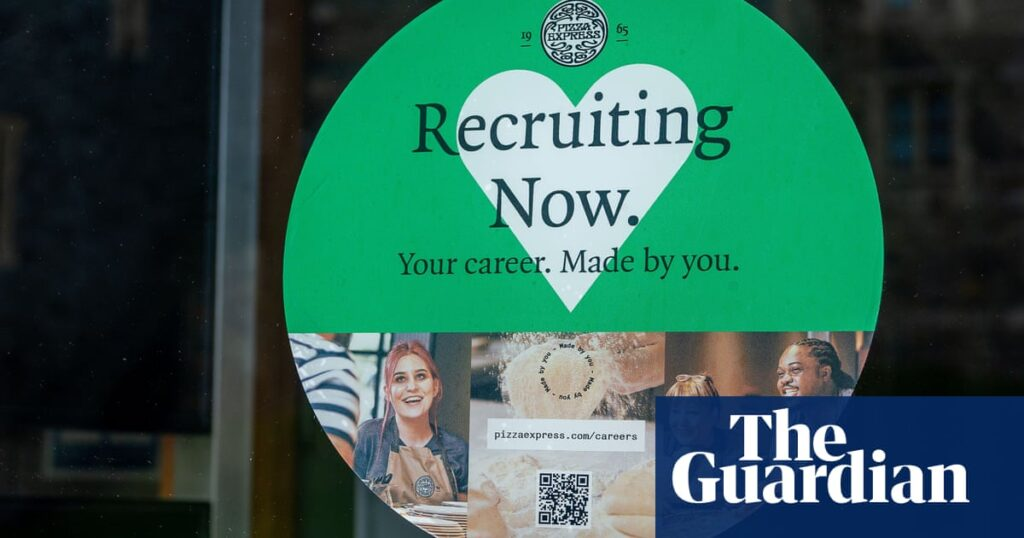 UK job vacancies hit record amid Brexit and Covid staff shortages   UK unemployment and employment statistics   The Guardian