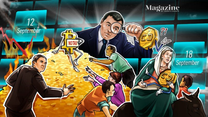 Cardano price dips after smart contract launch, Walmart working with Litecoin is fake news, Coinbase raises $2B from junk-bond sale: Hodler's Digest, Sept. 12–18   by Digiwithron   Sep, 2021  