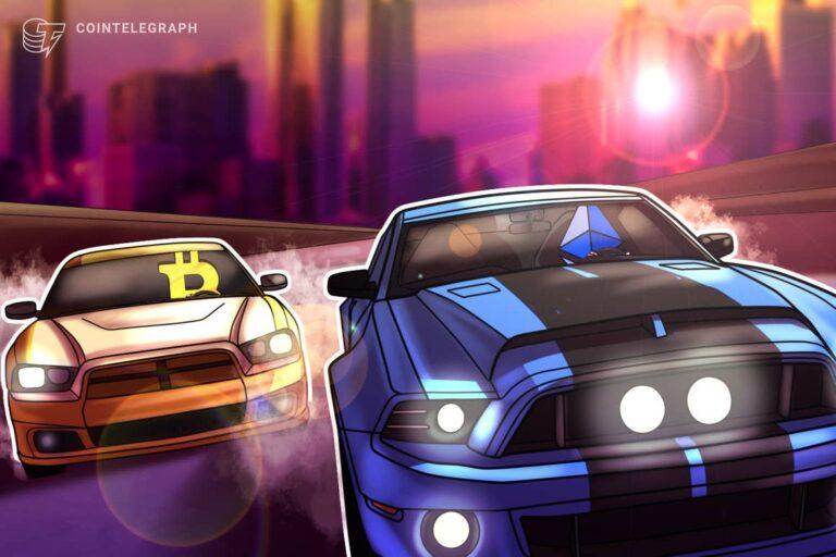 Ethereum drops more than Bitcoin as China escalates crypto ban, ETH/BTC at 3-week low