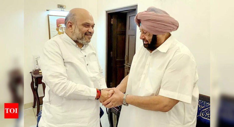 Amarinder Singh News: Why Amarinder's decision will make 2022 Punjab assembly election unprecedented | India News – Times of India